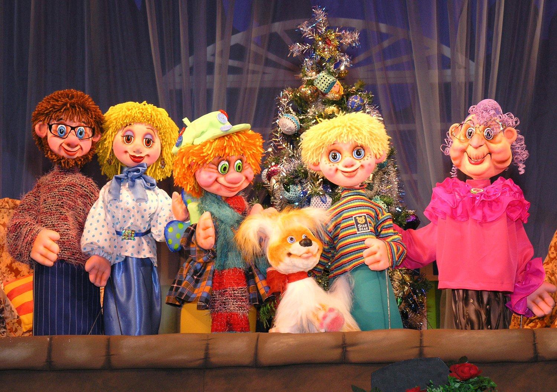 Театральные куклы фото