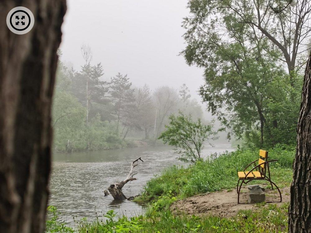 Фото: туман на Барнаулке