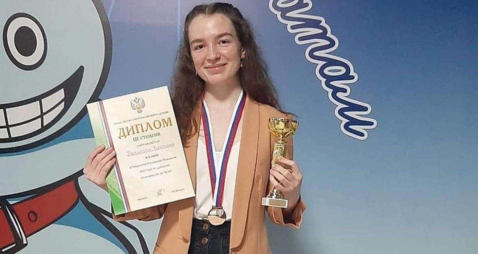Барнаульская шахматистка стала призёром чемпионата России