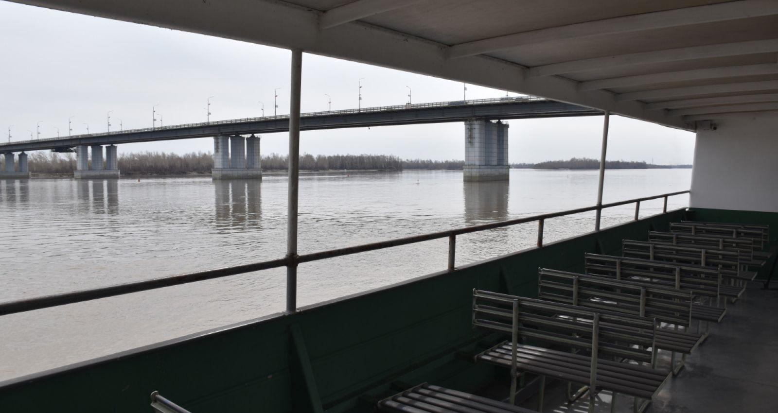 Теплоходы начали курсировать по Оби в Барнауле