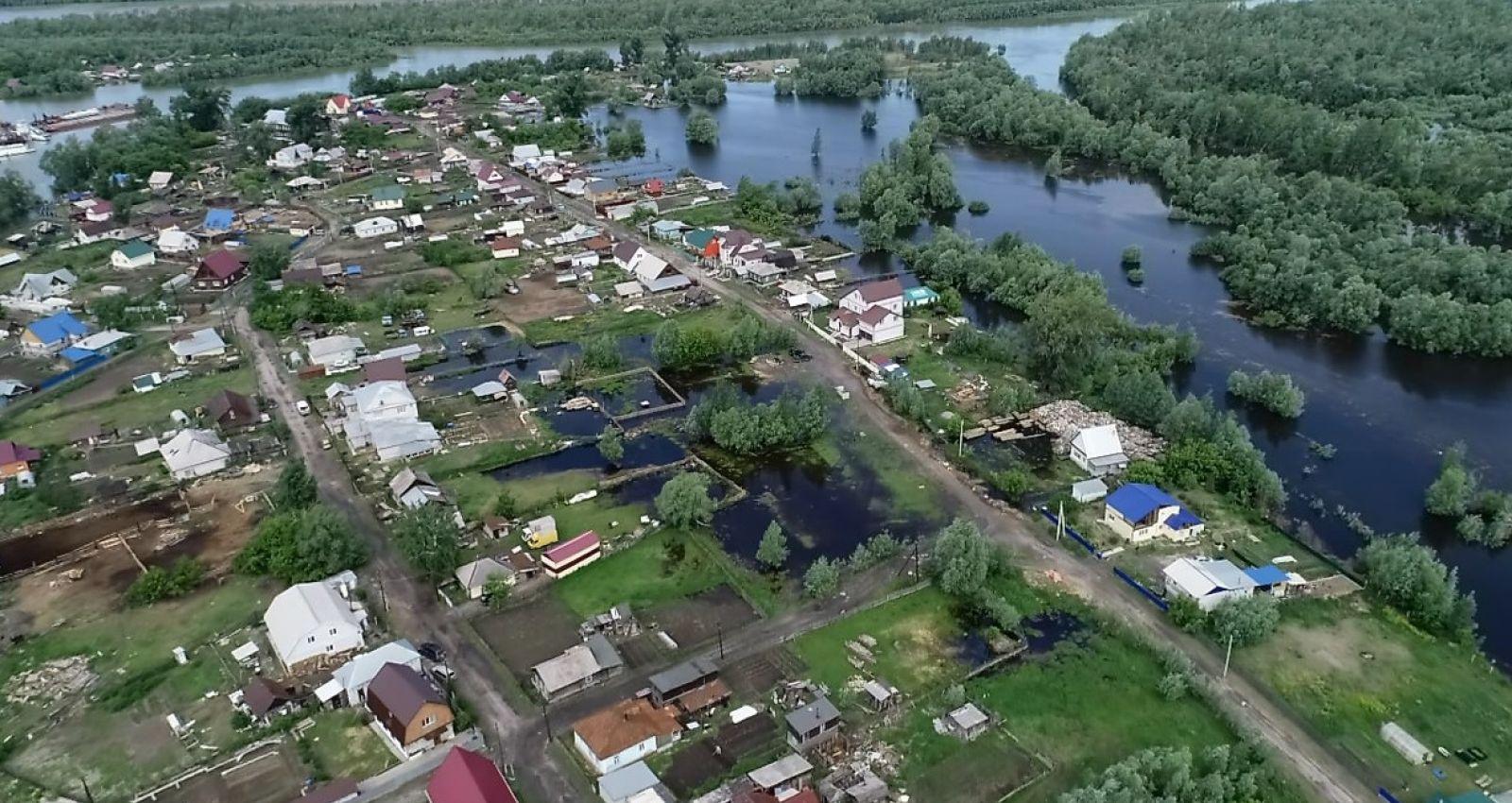 Алтайский край может настигнуть вторая волна паводка